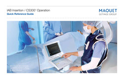 IAB Insertion CS300 Operation Quick Reference Guide